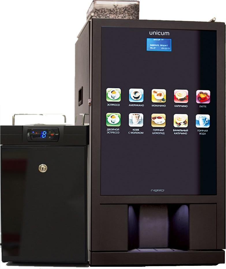 Настольный кофейный автомат Nero Fresh Milk на зерновом кофе