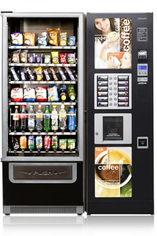 Комбинирванный торговый автомат NOVABAR