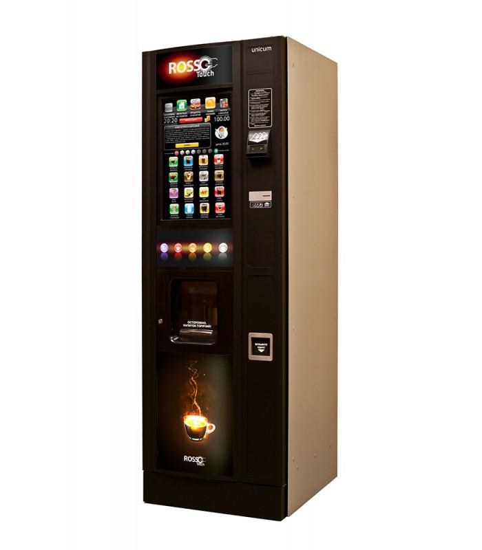Кофейный автомат с сенсорным экраном