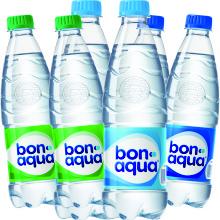 Вода Бон Аква и соки Добрый